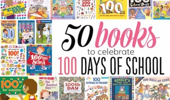50 Books to Celebrate the 100th Day of School