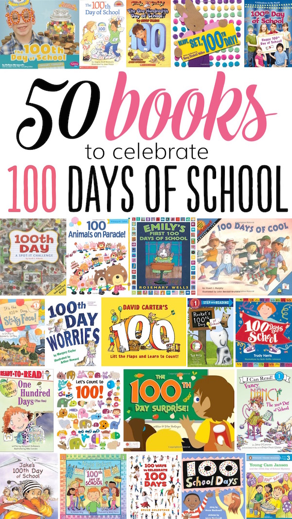 50 books to celebrate 100 days of school