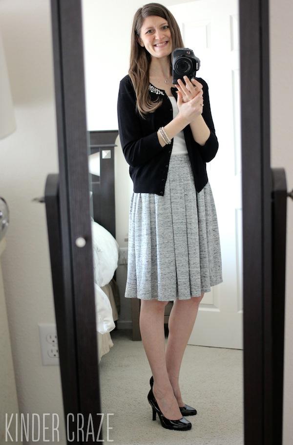 Lyla Skirt from Stitch Fix #stitchfix
