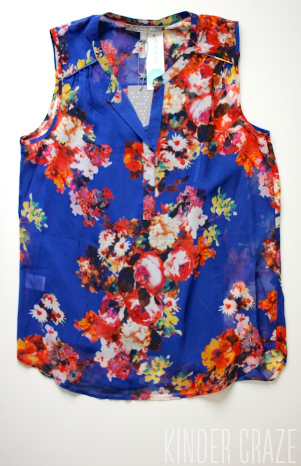 Vivienne Floral Print Sleeveless Blouse from Stitch Fix #stitchfix