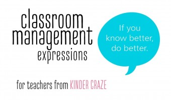 Classroom Management Phrases for Teachers March Roundup