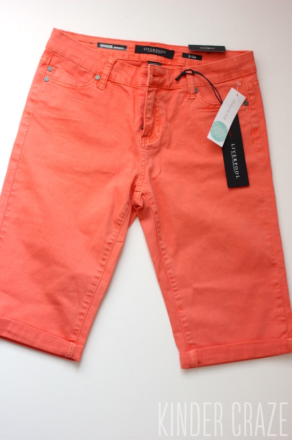 Susie Bermuda Short from Liverpool - May 2015 Stitch Fix Review