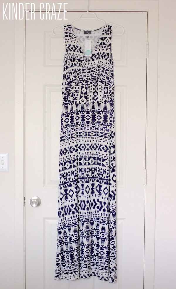 Persia Maxi Dress from Market & Spruce - May 2015 Stitch Fix Review