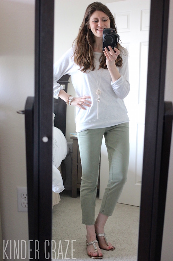 Patrick Cropped Chino Pant from Level 99 - May 2015 Stitch Fix Review