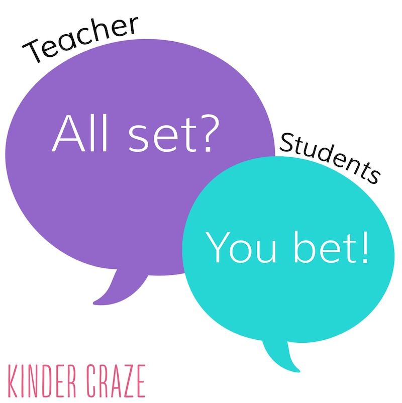 Classroom Management Phrases for Teachers April Roundup