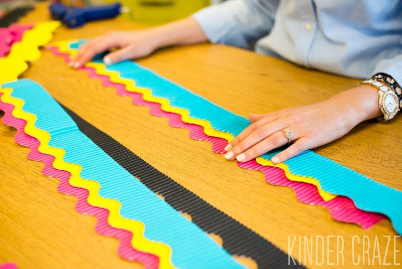 add multiple layers of borders to your bulletin boards