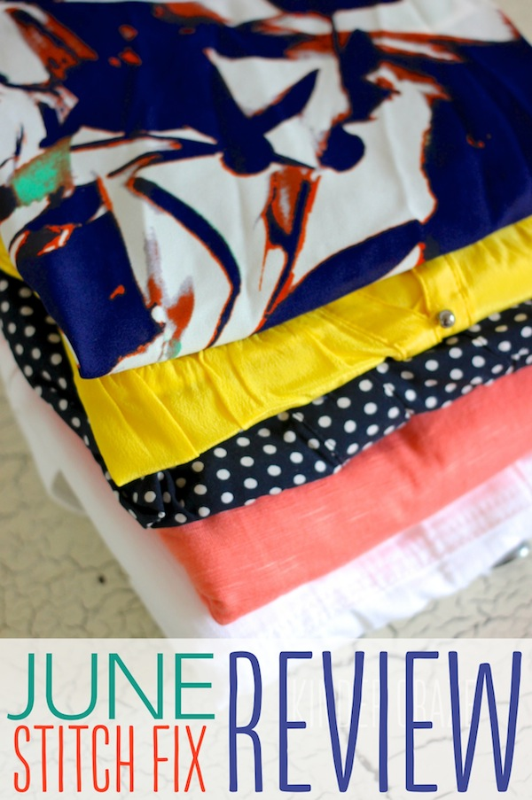 June 2015 Stitch Fix Review and Giveaway #stitchfix #fashion