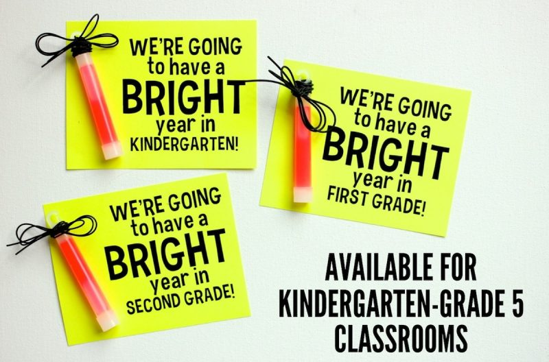 FREE gift tags for back to school
