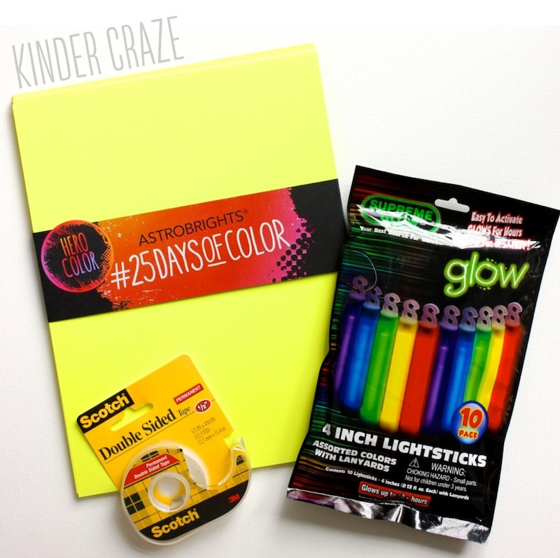 make your own gift tags for back to school - FREEBIE and instructions!