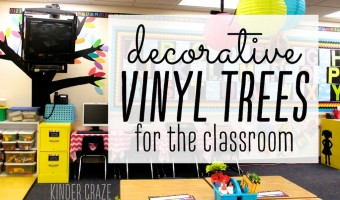 Video Tutorial: Decorative Vinyl Trees for the Classroom