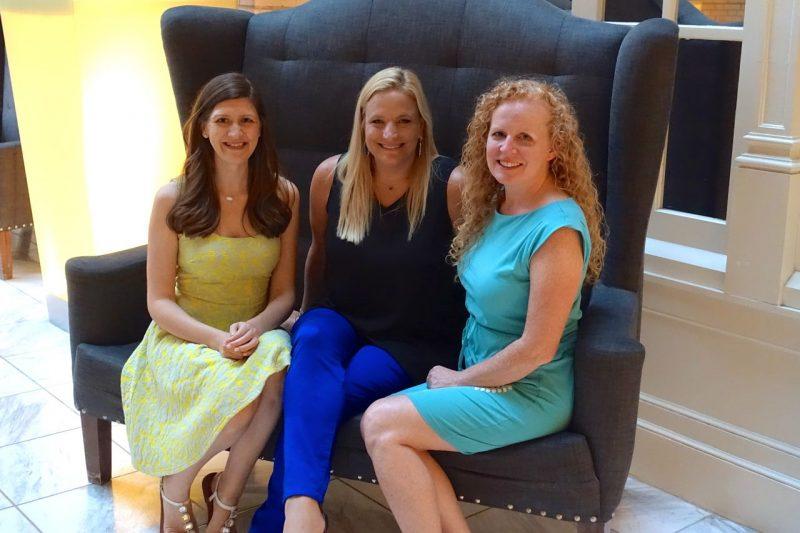 Maria Manore, Reagan Tunstall and Marsha McGuire