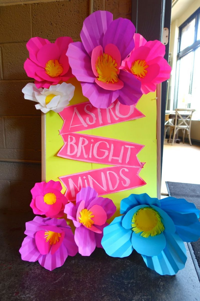 Astro Bright Minds sign