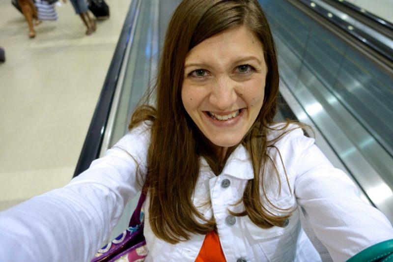 Maria selfie