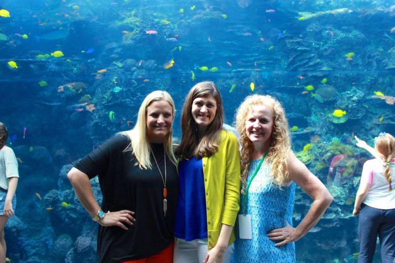 Astro Bright Minds summit 2015 at the Georgia Aquarium
