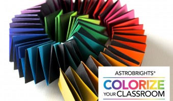 Colorize Your Classroom with an Astrobrights DIY Paper Chain