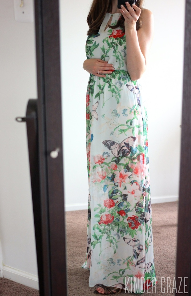 floral Ruby Maxi Dress from Fate