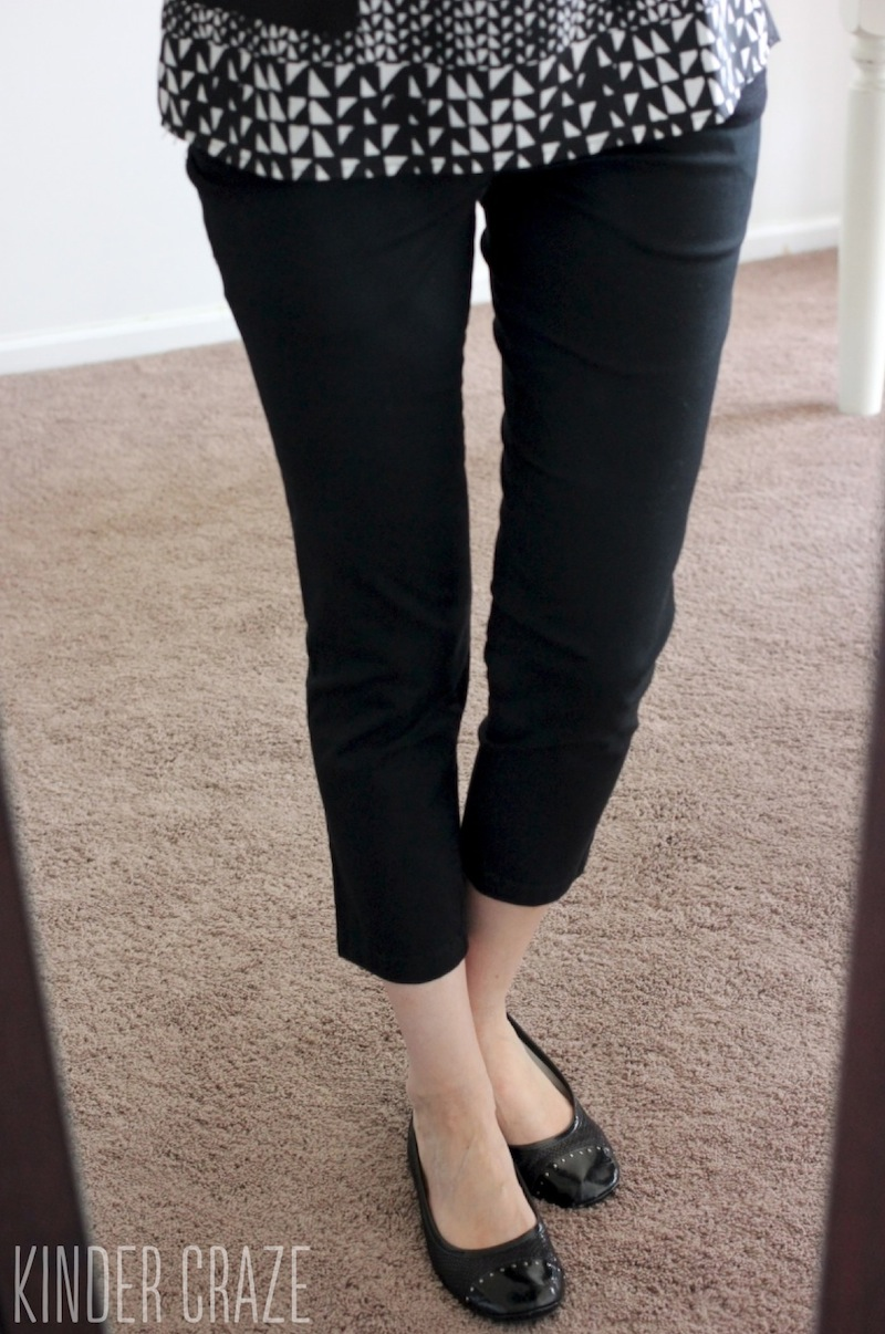 black Siena Cropped Pant from Kut from the Kloth- Stitch Fix