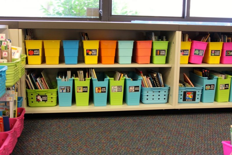 classroom library boxes