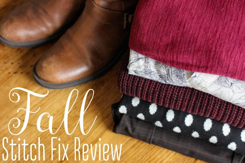 Fall Stitch Fix Review