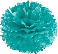 "20"" robins egg blue pom pom - Schoolgirl Style"