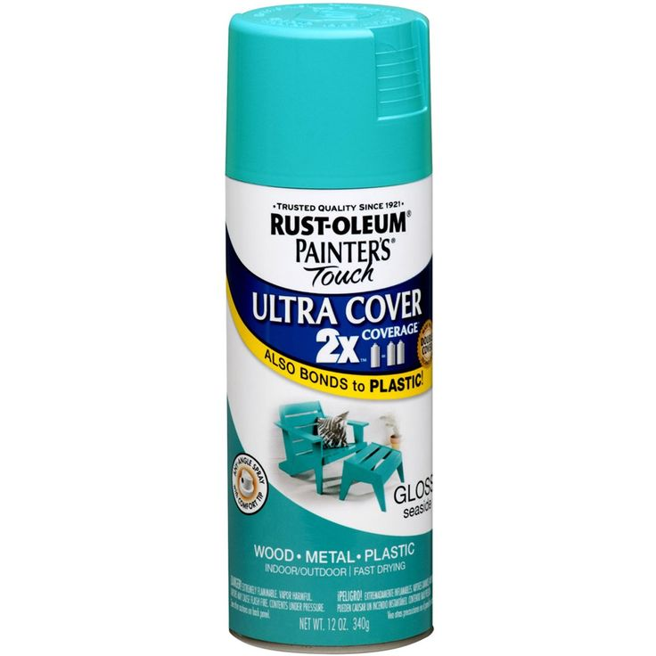 Rustoleum seaside spray paint