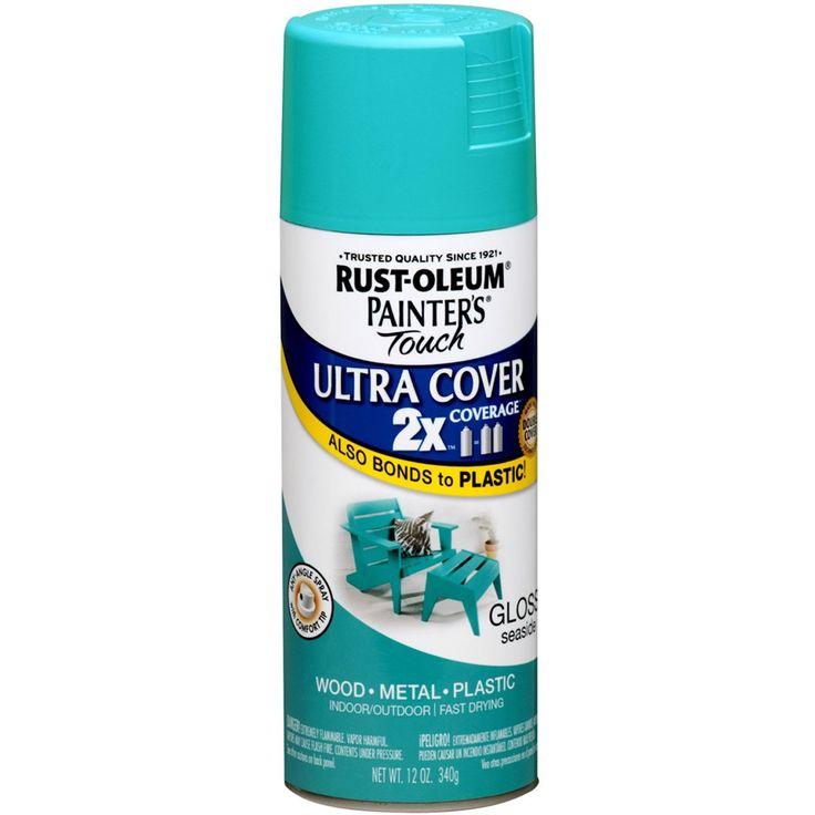 Rustoleum seaside spray paint