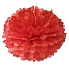 "20"" red pom pom - Schoolgirl Style"