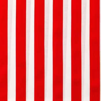 red and white striped fabric from Hobby Lobby
