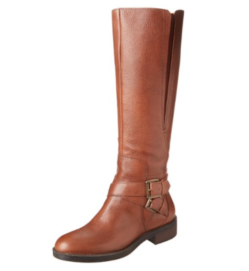 Enzo Angiolini brown riding boot