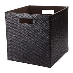 black BLADIS storage basket from IKEA