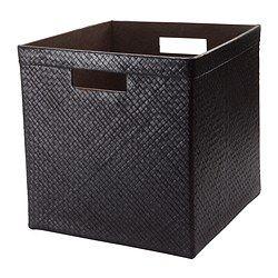 black BLADIS storage basket from IKEA