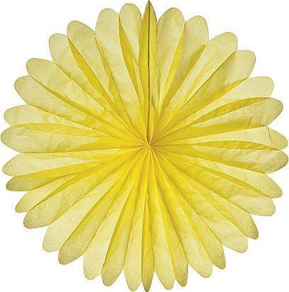 "19"" canary yellow daisy - schoolgirl style"