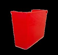 Get Organized bin from Schoolgirl Style - red