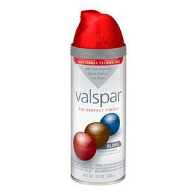 Val spar Classic Red spray paint