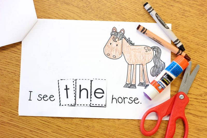 FREE hands-on sight word practice