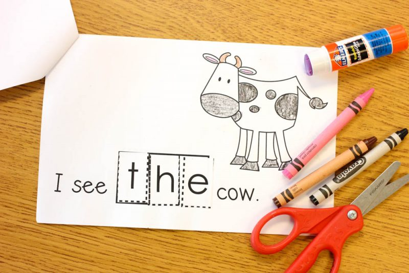 FREE Interactive Sight Word Reader