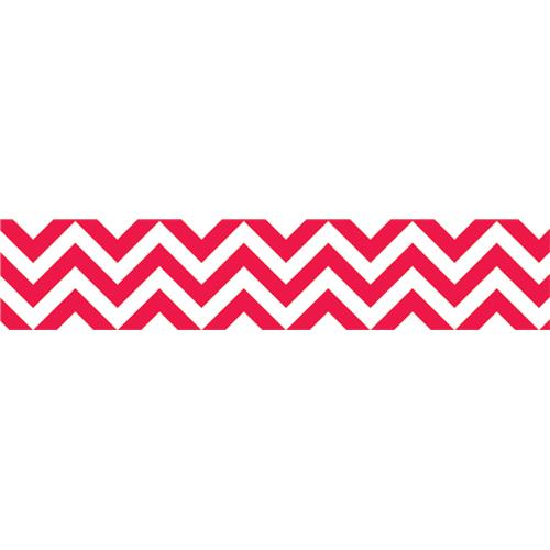 red and white chevron border from Schoolgirl Style
