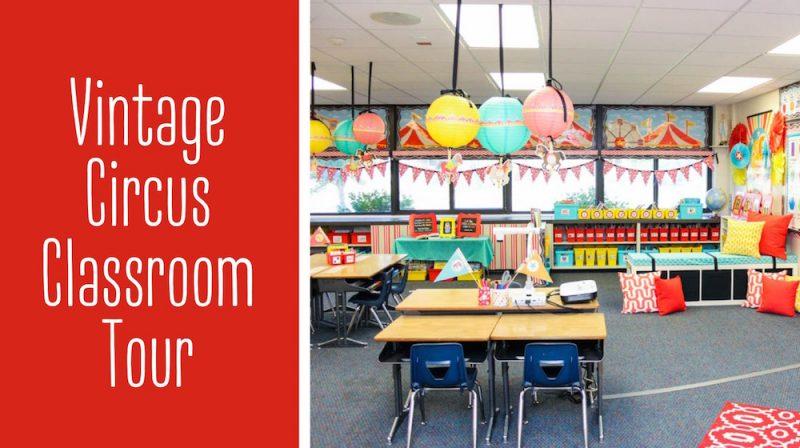 Vintage Circus kindergarten classroom tour