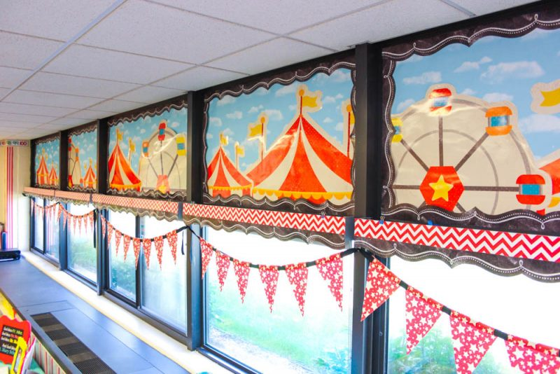 Take a Tour of My Vintage Circus Kindergarten Classroom