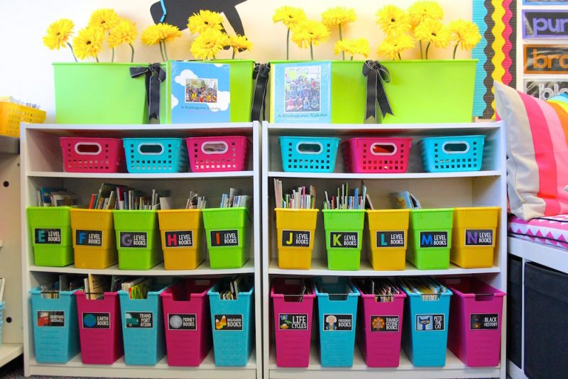 how to organize your classroom library