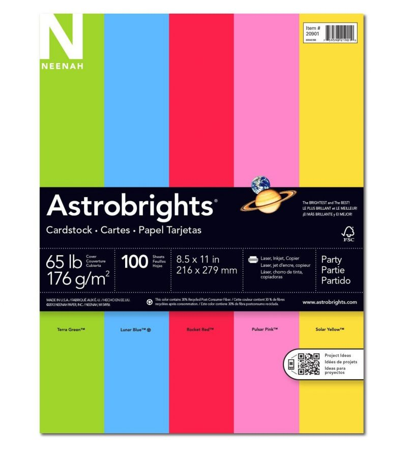 Astrobrights cardstock assortment