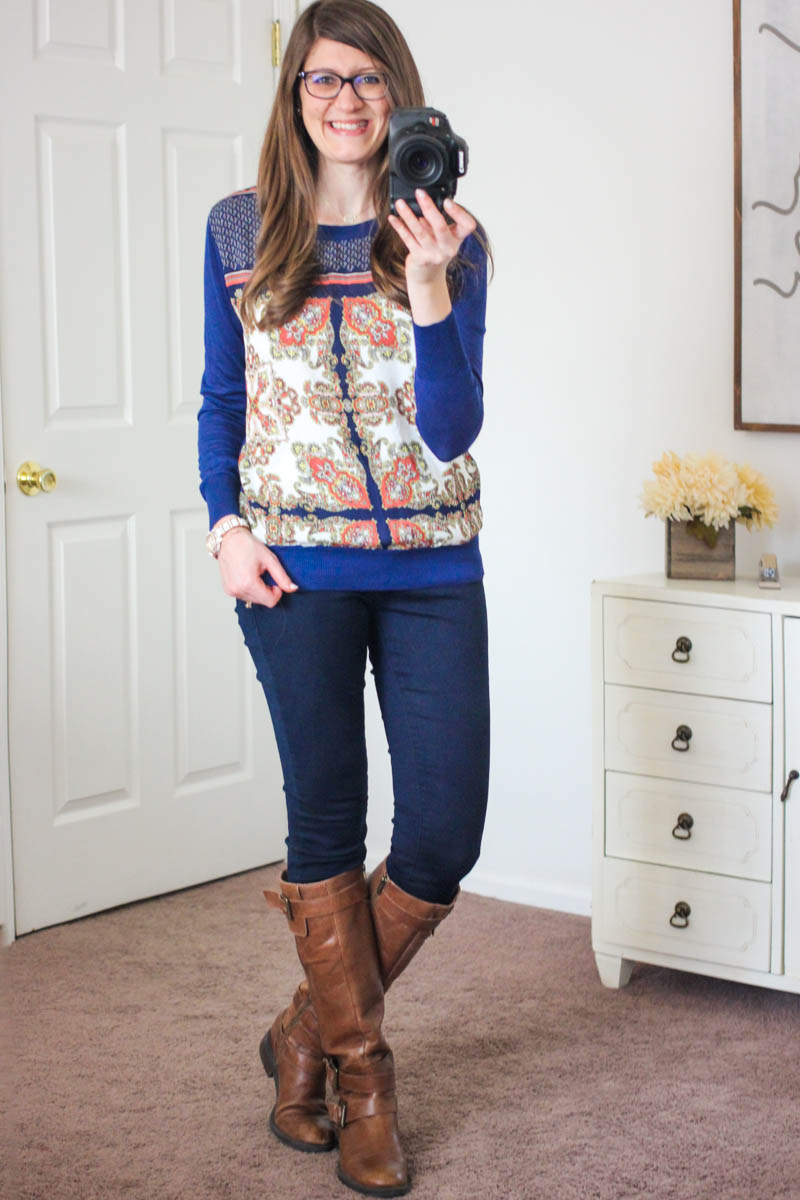 Freida Skinny Jean from Mavi - December Stitch Fix