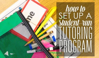 How to Set Up a Student-Run Tutoring Program