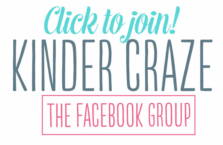Click to Join the Kinder Craze Facebook Group