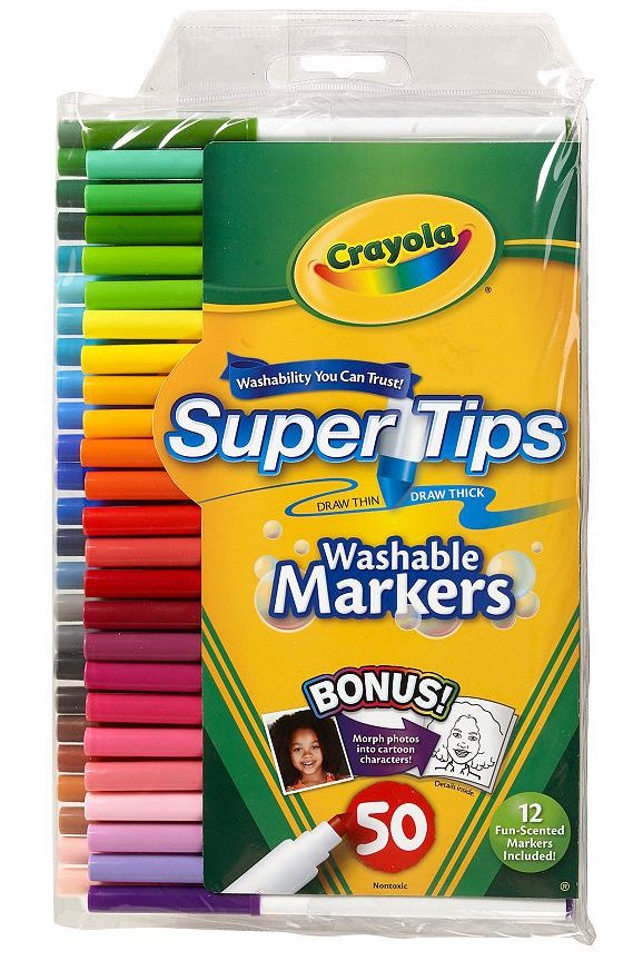 crayola super tips markers