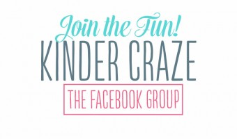 Announcing: The Kinder Craze Facebook Group!