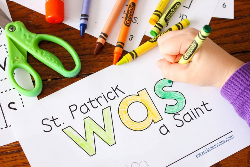 FREE emergent reader to teach about St. Patrick's Day