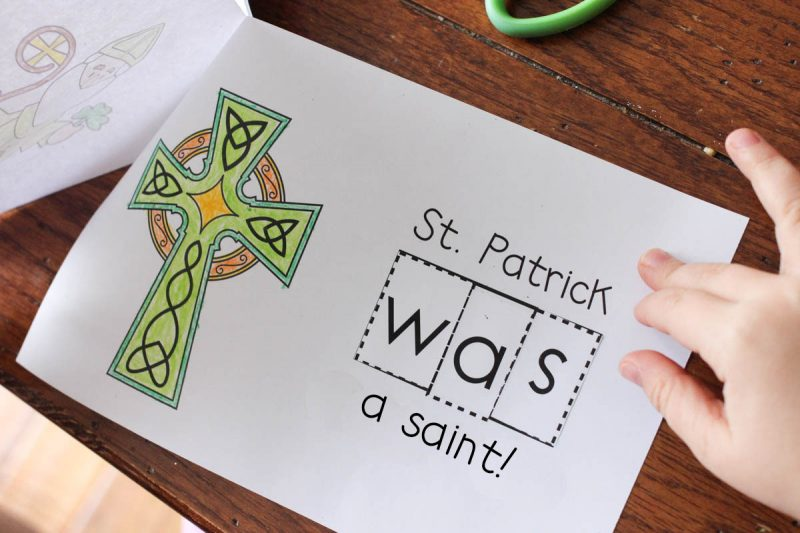 FREE emergent reader to teach about St. Patrick
