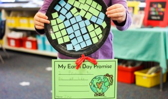 Free Earth Day Craft and Writing Activity