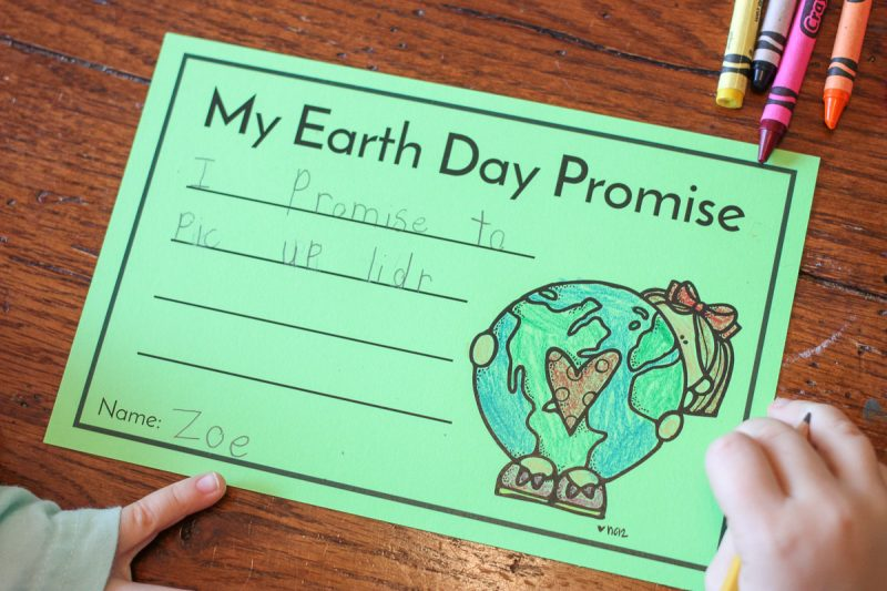 FREE writing activity for Earth Day
